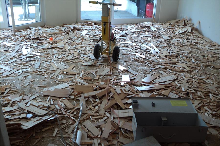 Holzfußboden Wasserschaden ~ Reparaturen